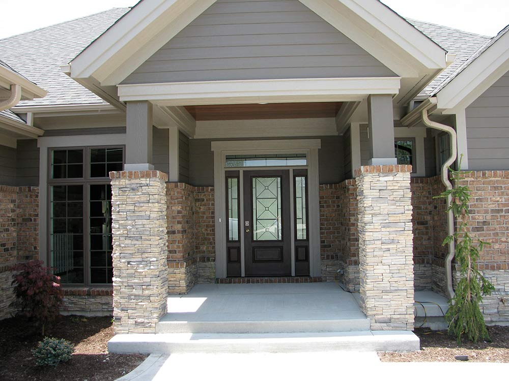 Portfolio 2 g a white homes for Liberty hill custom home builders