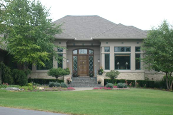Portfolio 6 g a white homes for Liberty hill custom home builders