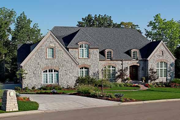 Portfolio 11 g a white homes for Liberty hill custom home builders