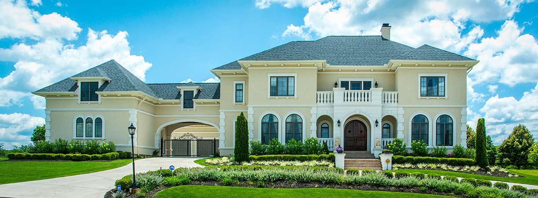 Portfolio 19 g a white homes for Liberty hill custom home builders
